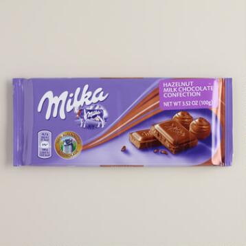 Milka Noisette Chocolate Bar, Set of 2